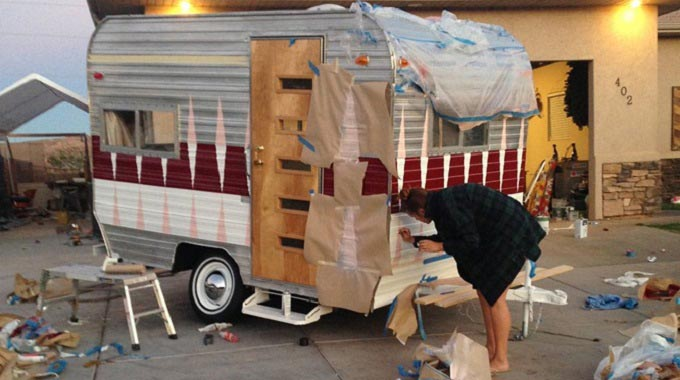 Painting-an-RV-Exterior