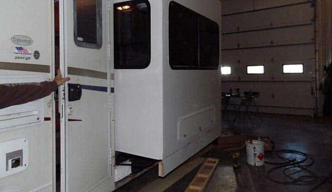 how to Remove RV Slide-out
