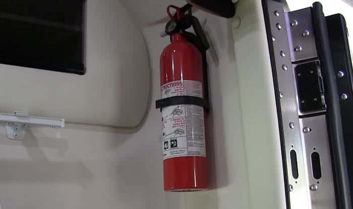 Best Fire Extinguishers For RVs