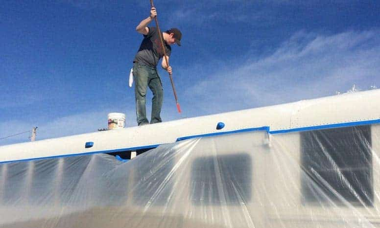 Elastomeric Roof Coating - Can You Apply It Yourself?
