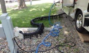 best rv sewer hose support