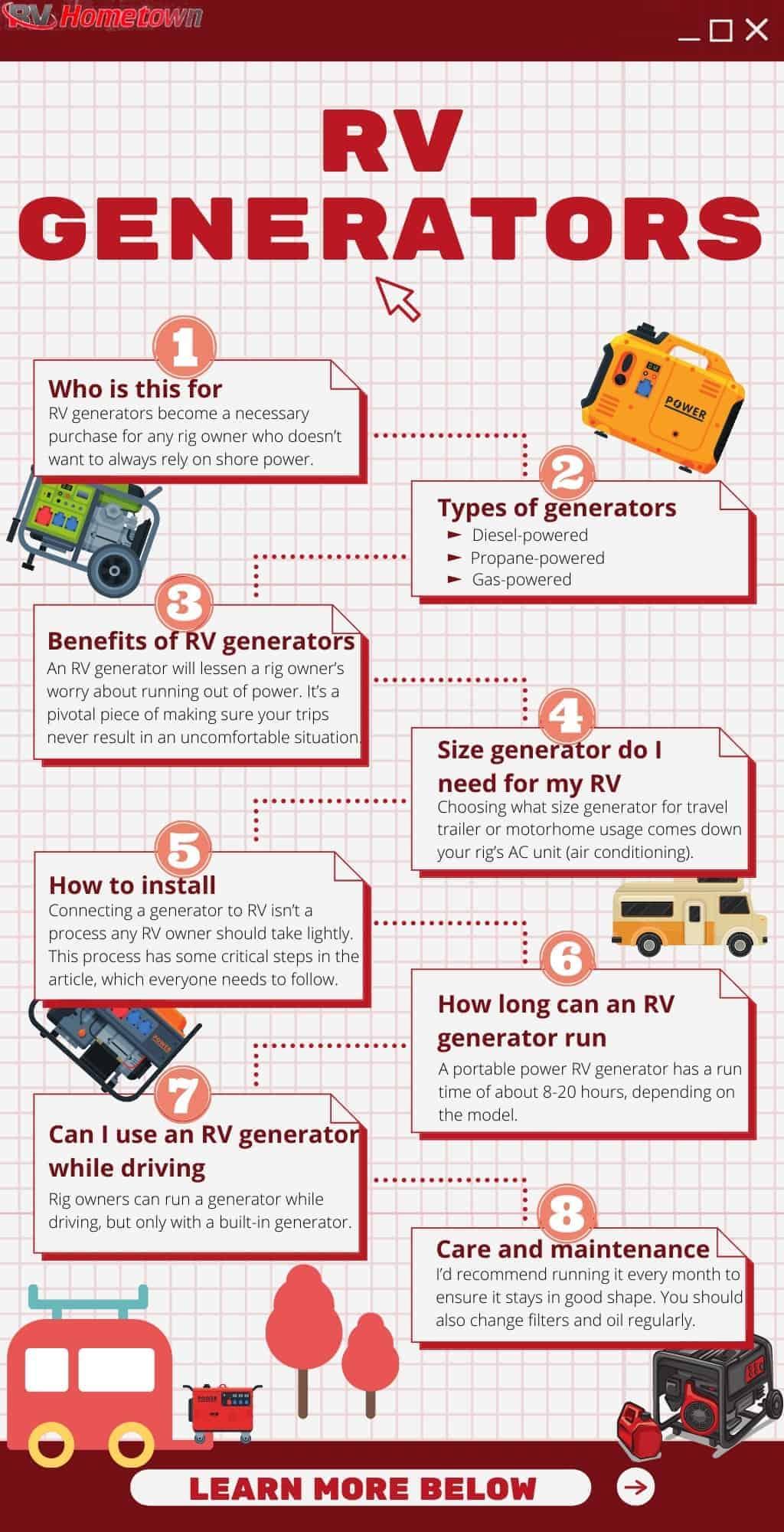 best-built-in-rv-generators