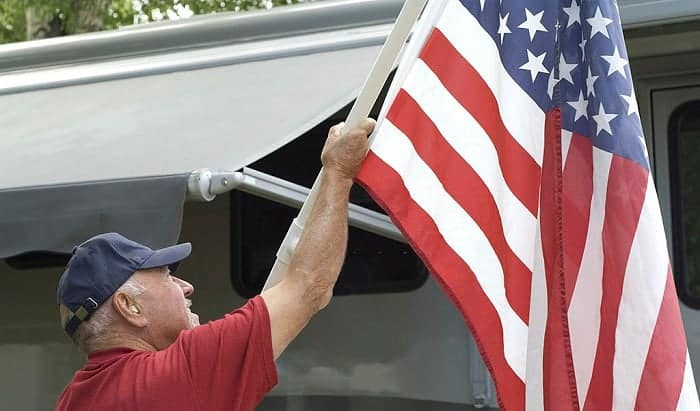 best rv flag poles