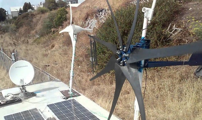 best rv wind turbine